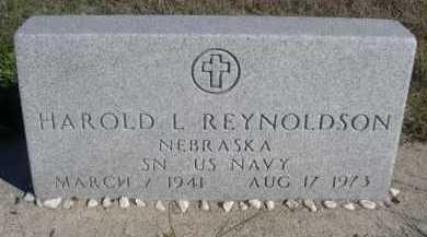 REYNOLDSON, HAROLD L. - Dawes County, Nebraska   HAROLD L. REYNOLDSON - Nebraska Gravestone Photos