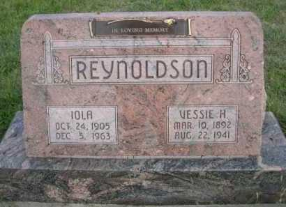 REYNOLDSON, VESSIE H. - Dawes County, Nebraska | VESSIE H. REYNOLDSON - Nebraska Gravestone Photos