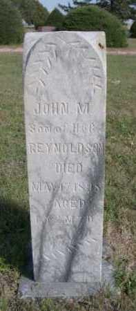 REYNOLDSON, JOHN M. - Dawes County, Nebraska   JOHN M. REYNOLDSON - Nebraska Gravestone Photos