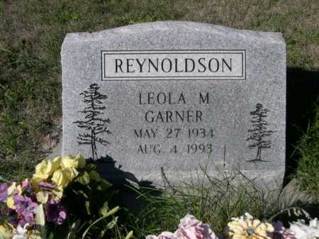 GARNER REYNOLDSON, LEOLA M. - Dawes County, Nebraska | LEOLA M. GARNER REYNOLDSON - Nebraska Gravestone Photos