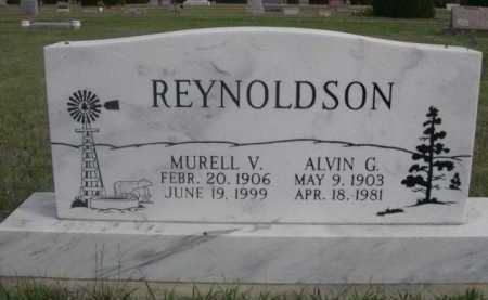REYNOLDSON, ALVIN G. - Dawes County, Nebraska | ALVIN G. REYNOLDSON - Nebraska Gravestone Photos