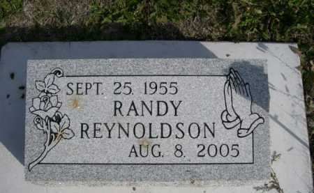 REYNOLDSON, RANDY - Dawes County, Nebraska | RANDY REYNOLDSON - Nebraska Gravestone Photos