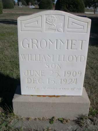GROMMET, WILLIAM LLOYD - Dawes County, Nebraska | WILLIAM LLOYD GROMMET - Nebraska Gravestone Photos