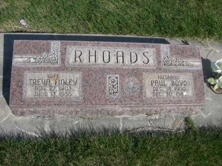 RHODES, PAUL BOYD - Dawes County, Nebraska | PAUL BOYD RHODES - Nebraska Gravestone Photos
