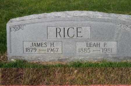 RICE, LEAH P. - Dawes County, Nebraska | LEAH P. RICE - Nebraska Gravestone Photos