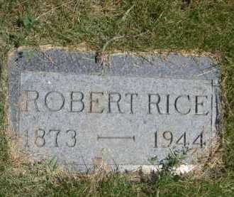 RICE, ROBERT - Dawes County, Nebraska | ROBERT RICE - Nebraska Gravestone Photos