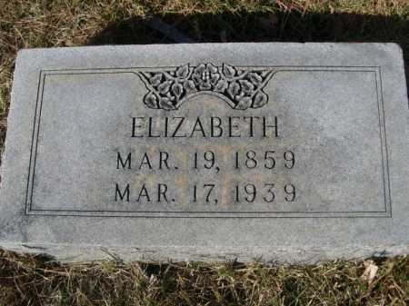 RICEDORFF, ELIZABETH - Dawes County, Nebraska | ELIZABETH RICEDORFF - Nebraska Gravestone Photos