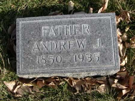RICHARDSON, ANDREW J. - Dawes County, Nebraska | ANDREW J. RICHARDSON - Nebraska Gravestone Photos