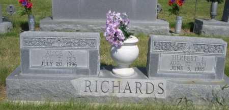 RICHARDS, HERBERT E. - Dawes County, Nebraska   HERBERT E. RICHARDS - Nebraska Gravestone Photos