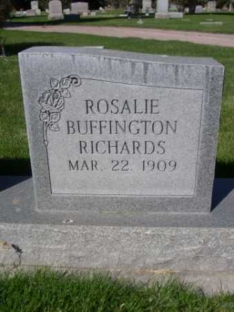 RICHARDS, ROSALIE - Dawes County, Nebraska | ROSALIE RICHARDS - Nebraska Gravestone Photos