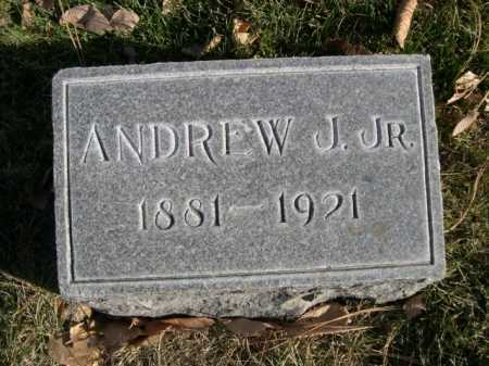 RICHARDSON, ANDREW J. JR. - Dawes County, Nebraska | ANDREW J. JR. RICHARDSON - Nebraska Gravestone Photos