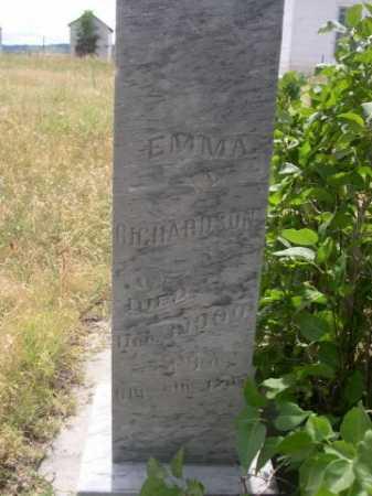 RICHARDSON, EMMA - Dawes County, Nebraska | EMMA RICHARDSON - Nebraska Gravestone Photos
