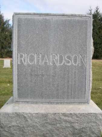 RICHARDSON, FAMILY - Dawes County, Nebraska | FAMILY RICHARDSON - Nebraska Gravestone Photos