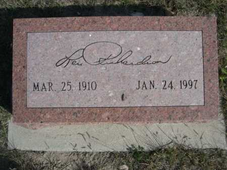 RICHARDSON, LEVI - Dawes County, Nebraska | LEVI RICHARDSON - Nebraska Gravestone Photos