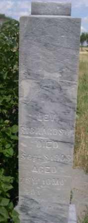 RICHARDSON, LEVI - Dawes County, Nebraska | LEVI RICHARDSON - Nebraska Gravestone Photos