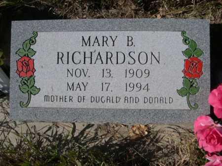 RICHARDSON, MARY B. - Dawes County, Nebraska | MARY B. RICHARDSON - Nebraska Gravestone Photos