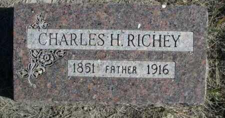 RICHEY, CHARLES H. - Dawes County, Nebraska | CHARLES H. RICHEY - Nebraska Gravestone Photos