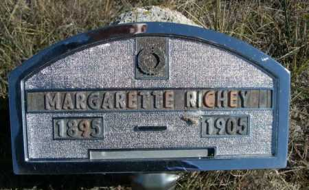 RICHEY, MARGARETTE - Dawes County, Nebraska | MARGARETTE RICHEY - Nebraska Gravestone Photos