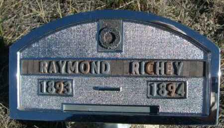 RICHEY, RAYMOND - Dawes County, Nebraska | RAYMOND RICHEY - Nebraska Gravestone Photos