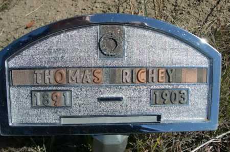 RICHEY, THOMAS - Dawes County, Nebraska   THOMAS RICHEY - Nebraska Gravestone Photos