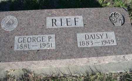RIEF, GEORGE P. - Dawes County, Nebraska | GEORGE P. RIEF - Nebraska Gravestone Photos