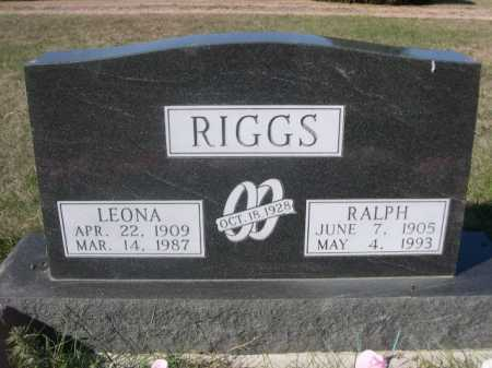 RIGGS, RALPH - Dawes County, Nebraska | RALPH RIGGS - Nebraska Gravestone Photos
