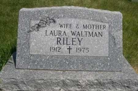 RILEY, LAURA - Dawes County, Nebraska | LAURA RILEY - Nebraska Gravestone Photos