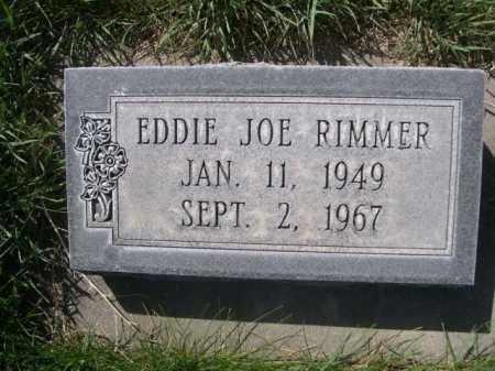 RIMMER, EDDIE JOE - Dawes County, Nebraska | EDDIE JOE RIMMER - Nebraska Gravestone Photos