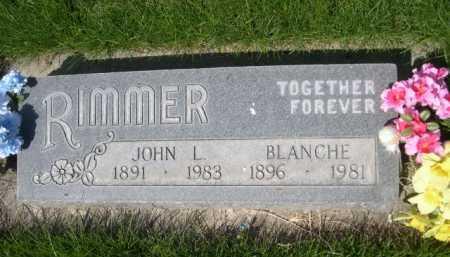 RIMMER, BLANCHE - Dawes County, Nebraska | BLANCHE RIMMER - Nebraska Gravestone Photos