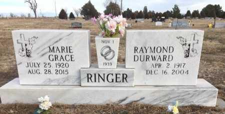 RINGER, RAYMOND DURWARD - Dawes County, Nebraska | RAYMOND DURWARD RINGER - Nebraska Gravestone Photos
