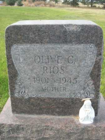 RIOS, OLIVE C. - Dawes County, Nebraska | OLIVE C. RIOS - Nebraska Gravestone Photos