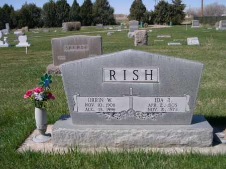 RISH, IDA R. - Dawes County, Nebraska | IDA R. RISH - Nebraska Gravestone Photos