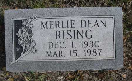 RISING, MERLIE DEAN - Dawes County, Nebraska | MERLIE DEAN RISING - Nebraska Gravestone Photos