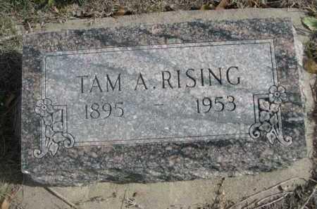 RISING, TAM A. - Dawes County, Nebraska | TAM A. RISING - Nebraska Gravestone Photos
