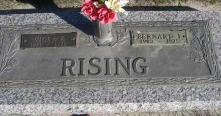 RISING, BERNARD I - Dawes County, Nebraska | BERNARD I RISING - Nebraska Gravestone Photos