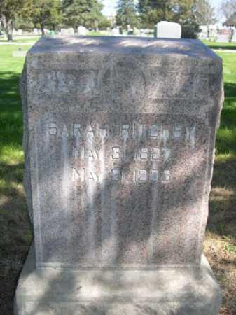 RITCHEY, SARAH - Dawes County, Nebraska | SARAH RITCHEY - Nebraska Gravestone Photos