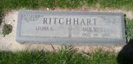 RITCHHART, PAUL WESLEY - Dawes County, Nebraska   PAUL WESLEY RITCHHART - Nebraska Gravestone Photos
