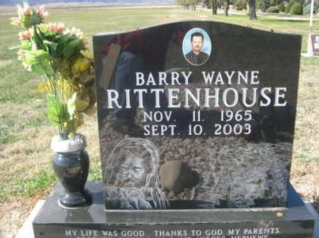 RITTENHOUSE, BARRY WAYNE - Dawes County, Nebraska | BARRY WAYNE RITTENHOUSE - Nebraska Gravestone Photos