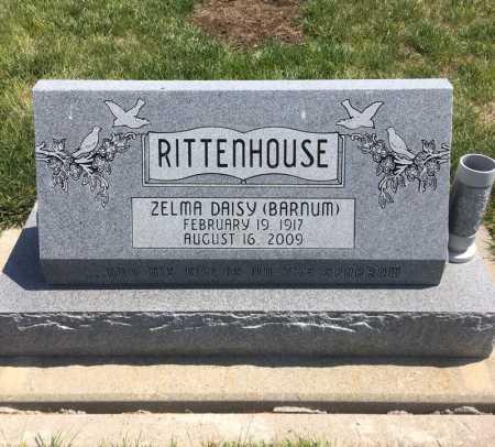BARNUM RITTENHOUSE, ZELMA DAISY - Dawes County, Nebraska | ZELMA DAISY BARNUM RITTENHOUSE - Nebraska Gravestone Photos