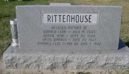RITTENHOUSE, ZELMA DAISY - Dawes County, Nebraska   ZELMA DAISY RITTENHOUSE - Nebraska Gravestone Photos