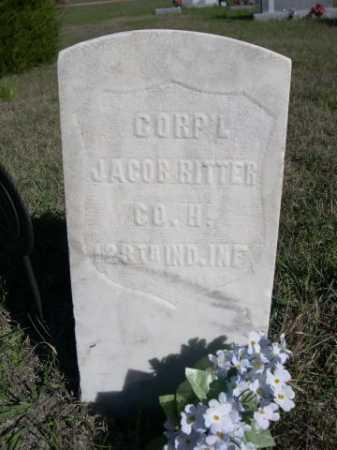 RITTER, JACOB - Dawes County, Nebraska | JACOB RITTER - Nebraska Gravestone Photos
