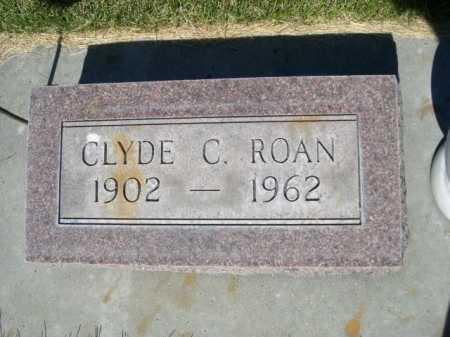 ROAN, CLYDE C. - Dawes County, Nebraska   CLYDE C. ROAN - Nebraska Gravestone Photos