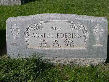 ROBBINS, AGNES L. - Dawes County, Nebraska | AGNES L. ROBBINS - Nebraska Gravestone Photos