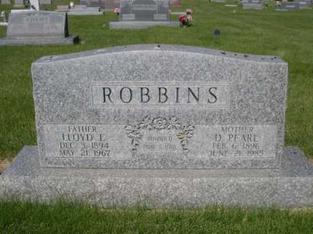 ROBBINS, LLOYD L. - Dawes County, Nebraska   LLOYD L. ROBBINS - Nebraska Gravestone Photos