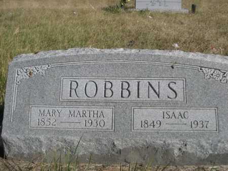 ROBBINS, MARY MARTHA - Dawes County, Nebraska | MARY MARTHA ROBBINS - Nebraska Gravestone Photos