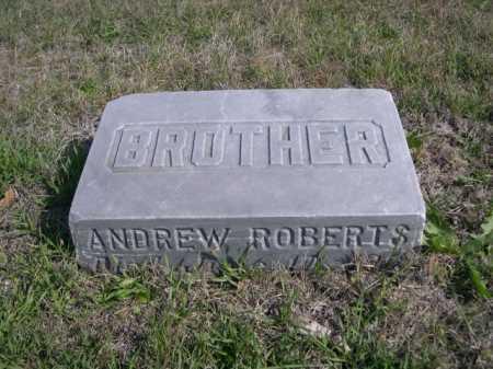 ROBERTS, ANDREW - Dawes County, Nebraska   ANDREW ROBERTS - Nebraska Gravestone Photos