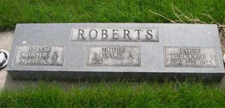 ROBERTS, THEODORE I. - Dawes County, Nebraska | THEODORE I. ROBERTS - Nebraska Gravestone Photos