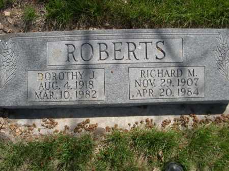 ROBERTS, RICHARD M. - Dawes County, Nebraska | RICHARD M. ROBERTS - Nebraska Gravestone Photos