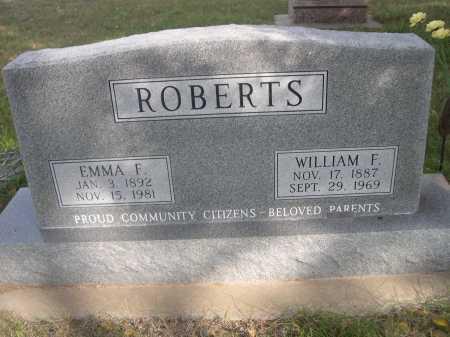 ROBERTS, EMMA F. - Dawes County, Nebraska | EMMA F. ROBERTS - Nebraska Gravestone Photos
