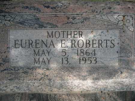 ROBERTS, EURENA E. - Dawes County, Nebraska | EURENA E. ROBERTS - Nebraska Gravestone Photos